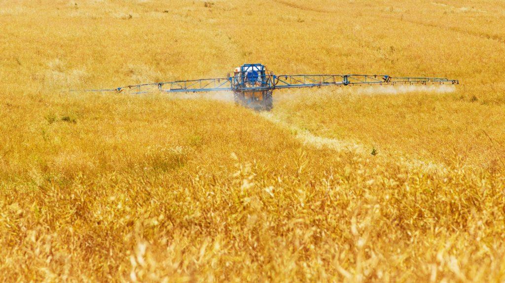 アメリカの農薬散布