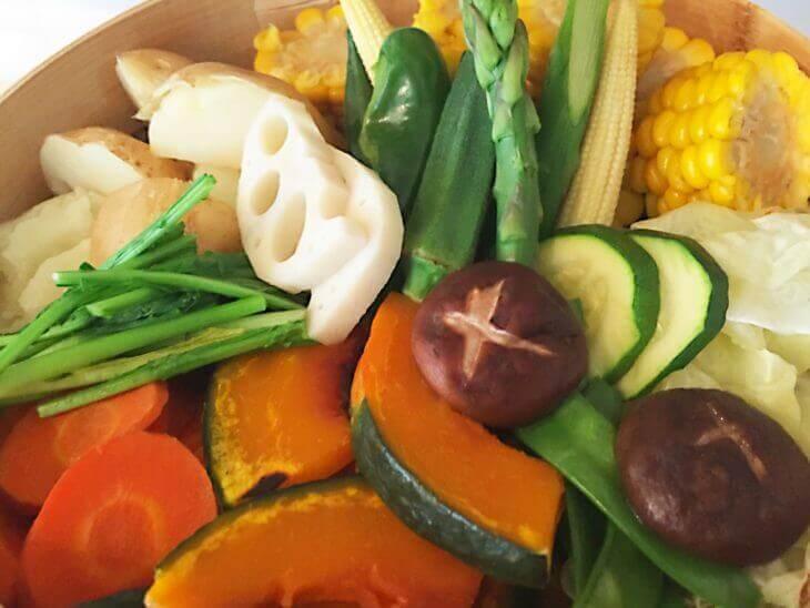 野菜をじっくり煮込む(蒸