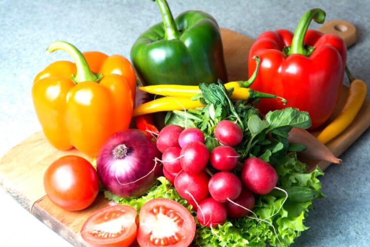 ピーマンは色の違いで栄養や効果効能も変わる?