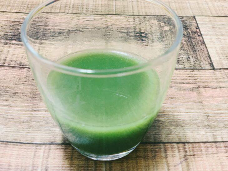 国産三種のこだわり青汁乳酸菌プラスの味を口コミレポート