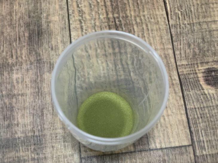 オーガニックモリンガの恵青汁の粉具合