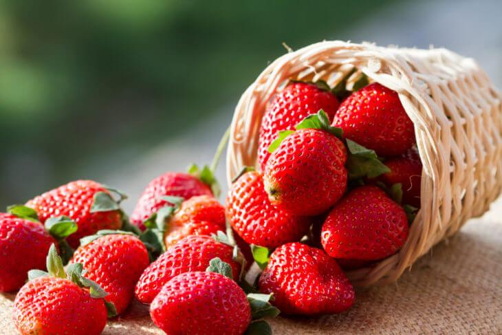 いちごの栄養素と効果効能まとめ