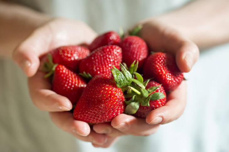 いちごの栄養と効果効能の紹介!