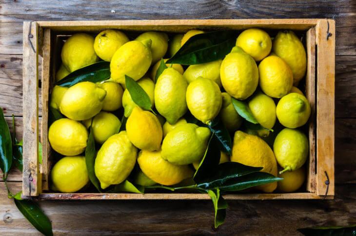 レモンの栄養素と効果効能を紹介!