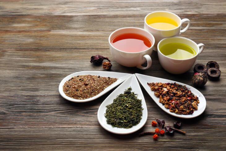 他お茶との栄養成分比較