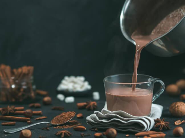 ココアの栄養素を紹介。カロリーは高いが栄養豊富!